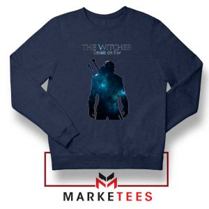 Witcher Geralt Navy Sweatshirt