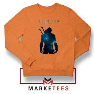 Witcher Geralt Orange Sweatshirt