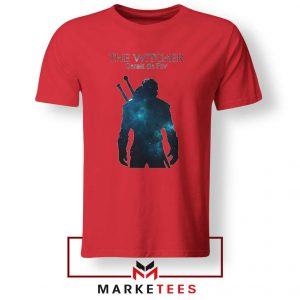 Witcher Geralt Red Tshirt