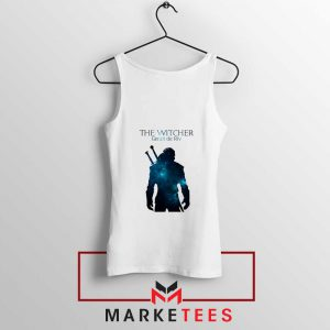 Witcher Geralt White Tank Top