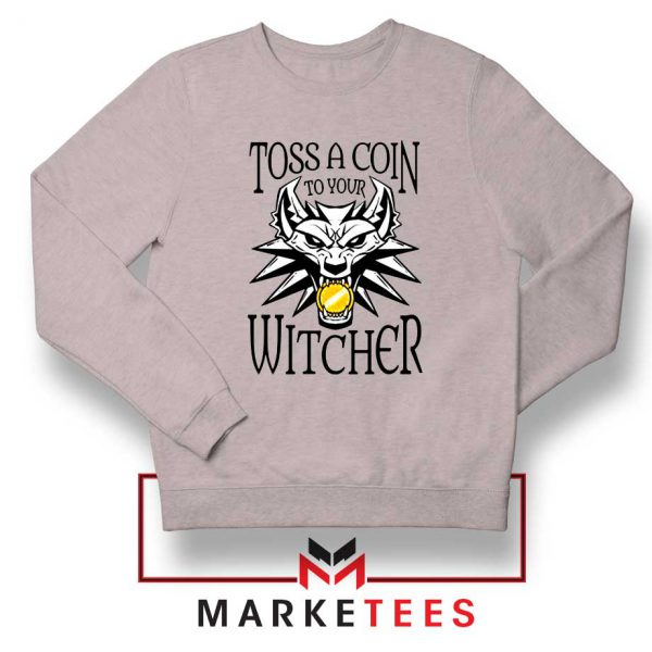 Witcher Logo Grey Sweater