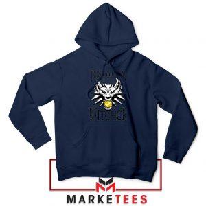Witcher Logo Navy Hoodie