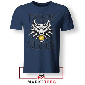 Witcher Logo Navy Tee Shirt