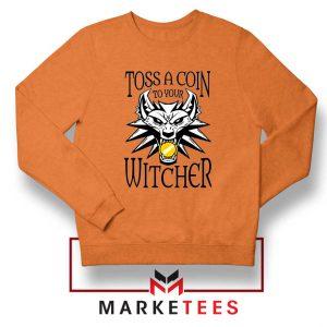 Witcher Logo Orange Sweater