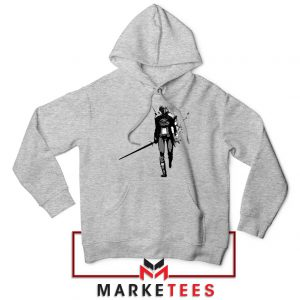 Witcher Of Rivia Grey Hoodie