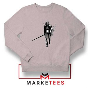 Witcher Of Rivia Grey Sweater