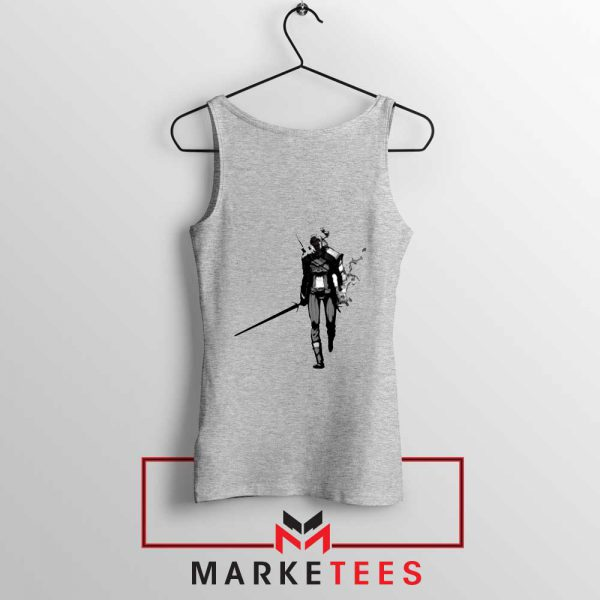 Witcher Of Rivia Grey Tank Top