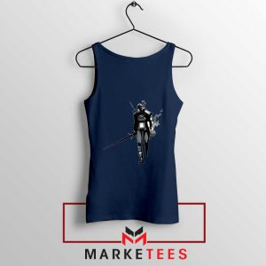 Witcher Of Rivia Navy Tank Top