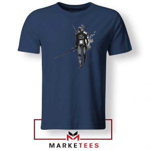 Witcher Of Rivia Navy Tshirt