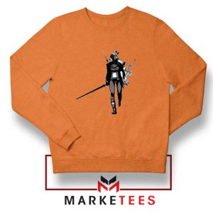 Witcher Of Rivia Orange Sweater