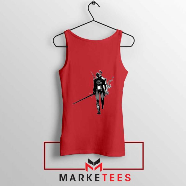 Witcher Of Rivia Red Tank Top