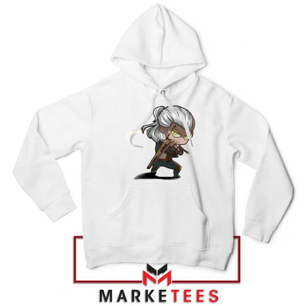 Witcher Rise of The White Wolf Hoodie