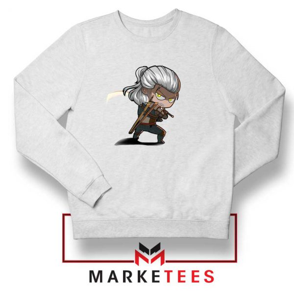 Witcher Rise of The White Wolf Sweater