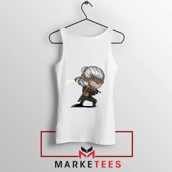 Witcher Rise of The White Wolf Tank Top