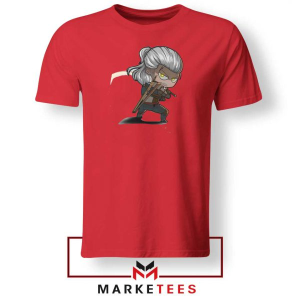 Witcher Rise of The White Wolf Tee