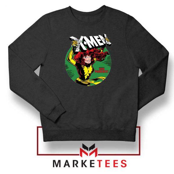 X Men Defeated Black Sweater