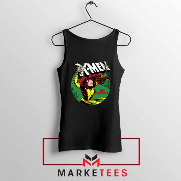 X Men Defeated Black Tank Top