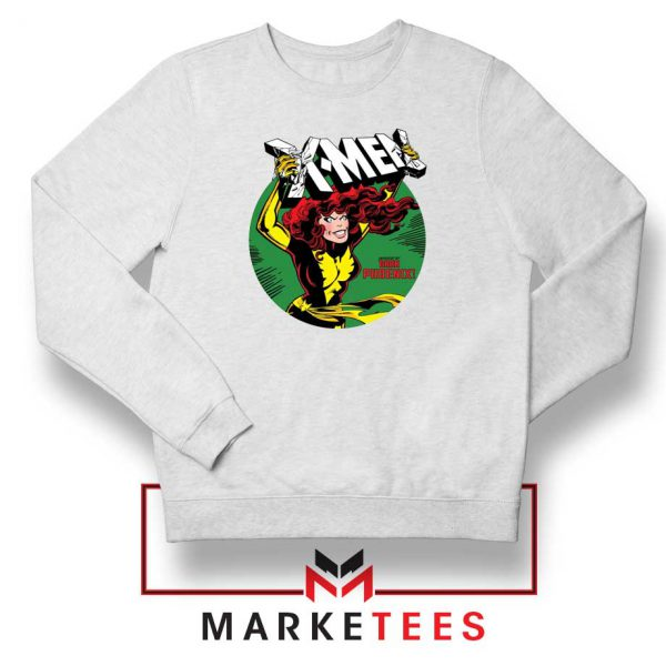 X Men Defeated White Sweater