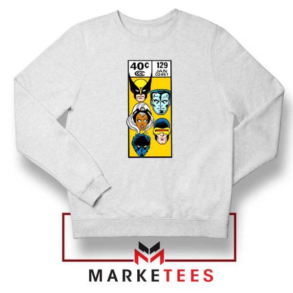 X Men Face Corner Box Sweater