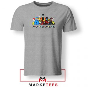 X Men Friends Team Tee Shirt