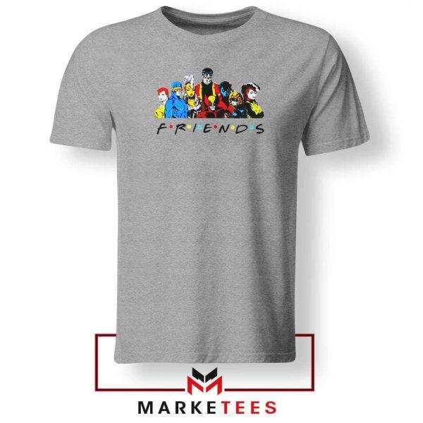 X Men Friends Team Tee Shirt