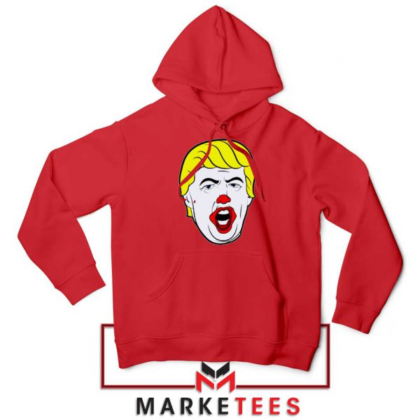 Donald Trump Clown Red Hoodie