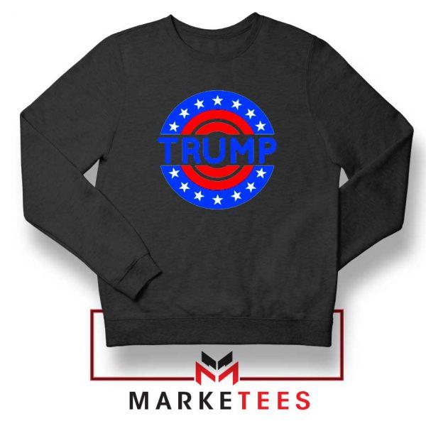 America Trump 2020 Black Sweater