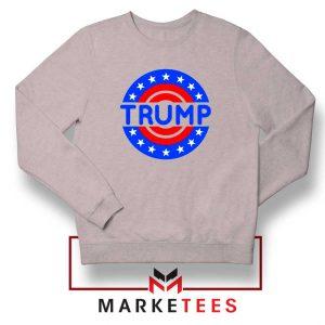 America Trump 2020 Grey Sweater