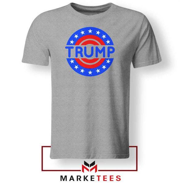 America Trump 2020 Grey Tee Shirts