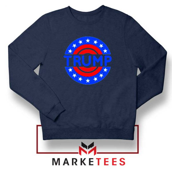 America Trump 2020 Navy Sweater
