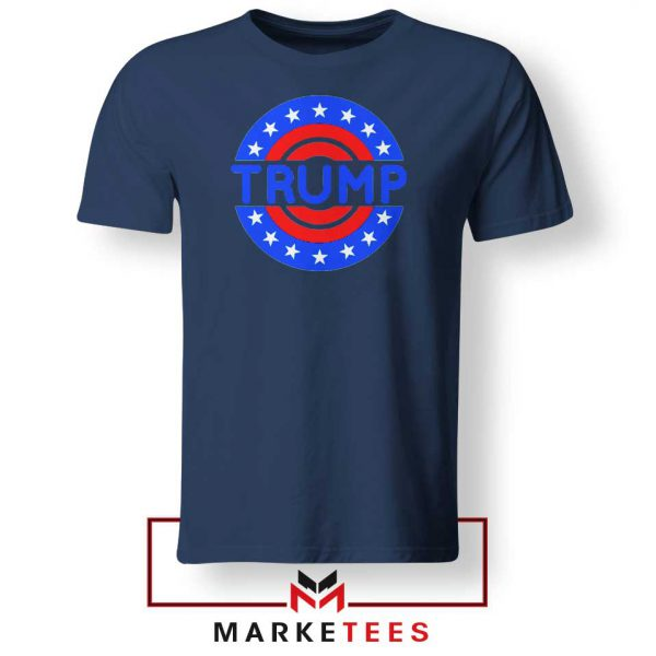 America Trump 2020 Navy Tee Shirts