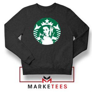 Ariana Grande Music Black Sweater