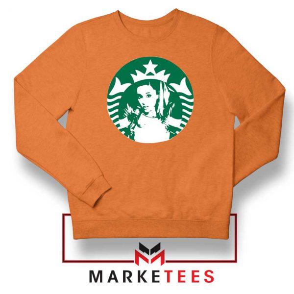 Ariana Grande Music Orange Sweater