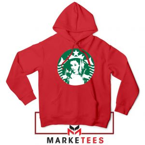 Ariana Grande Music Red Hoodie
