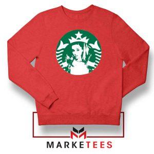 Ariana Grande Music Red Sweater