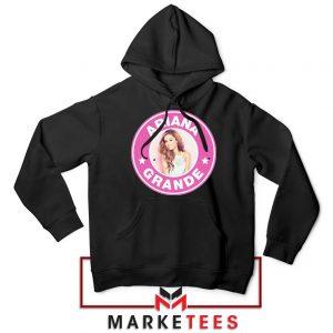 Ariana Grande Pink Starbucks Hoodie