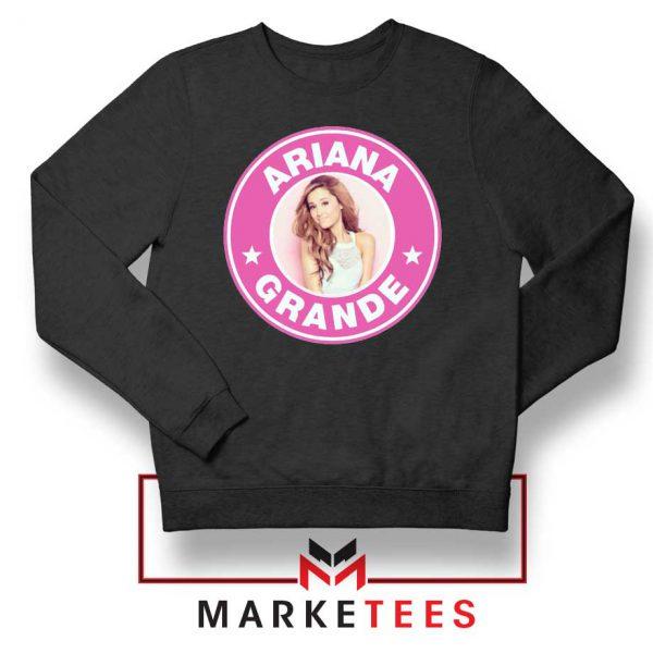 Ariana Grande Pink Starbucks Sweatshirt