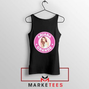 Ariana Grande Pink Starbucks Tank Top