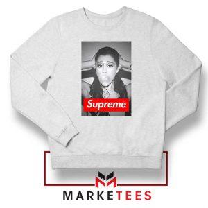 Ariana Grande Supreme Parody Sweatshirt