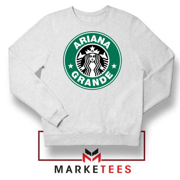 Ariana Starbucks Parody Sweatshirt