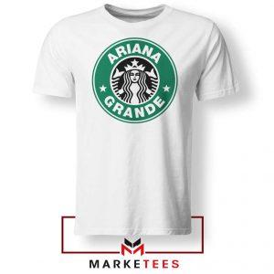 Ariana Starbucks Parody Tee Shirt
