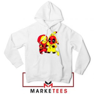 Baby Pikachu And Deadpool Hoodie