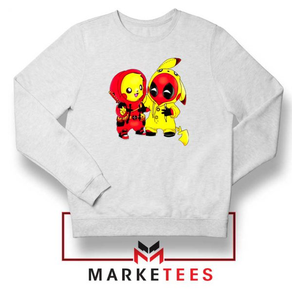 Baby Pikachu And Deadpool Sweater