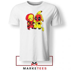 Baby Pikachu And Deadpool Tee Shirt