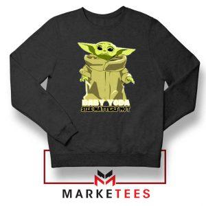 Baby Yoda Size Matters Not Sweater