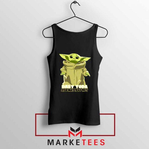 Baby Yoda Size Matters Not Tank Top