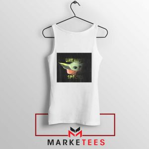 Baby Yoda Unknown Species Tank Top