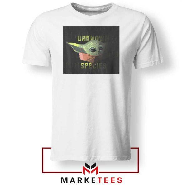 Baby Yoda Unknown Species Tee Shirt