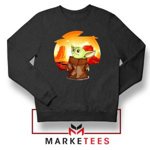 Baby Yoda Yiddle Sweatshirt