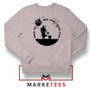 Baby Yoda and The Mandalorian Sport Grey Sweatshirt